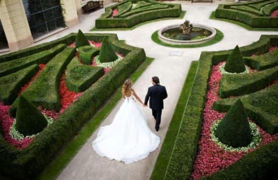 Свадьба в садах Праги You Travel Витебск (2)