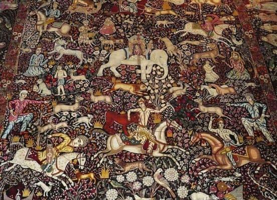 Рукотворное творение мастеров коврового искусства Ирана (турфирма You Travel, Витебск)