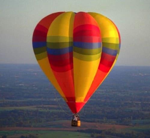 Полёт на воздушном шаре над Витебском (турфирма You Travel) Витебск1
