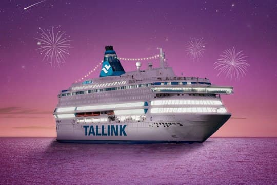 Встреча Нового года на пароме Tallink от турагентства You Travel в Витебске