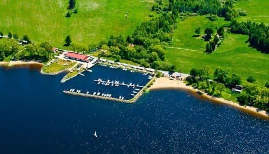 Отдых в Чехии на озере Липно