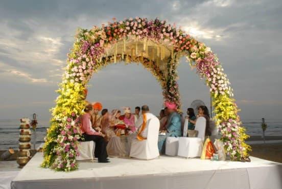 Свадебная церемония Гоа (Гоа, Индия) Турфирма You Travel (Витебск)-6