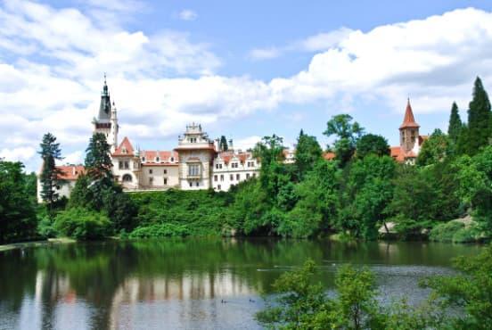 Свадьба в чешском замке
