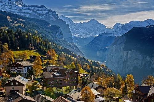 Отдых в Швейцарии - забронировать тур в Витебске